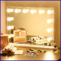 Large Hollywood Makeup Vanity Mirror 12PC Dimmable LED Lights Bedroom Table/Wall