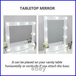 Large Light Hollywood Vanity Mirror, Makeup Cosmetics, Colour Modes, Beauty
