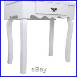 Large Pro Vanity Makeup Dressing Table Set Full-Length Lighted Hollywood Mirror