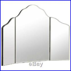 Large Trifold Vanity Makeup Mirror Dressing Table Decor Hollywood Cosmetic Glass