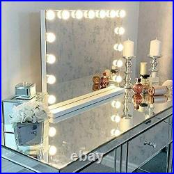 Large Vanity Makeup Mirror With Lights, Hollywood Lighted FREE SHIP
