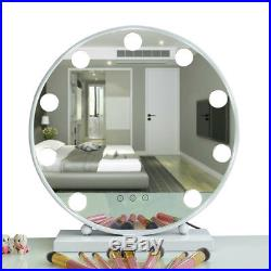 Large Vanity Mirror For LED Light Hollywood Latest Round Styles Makeup HD Mirror