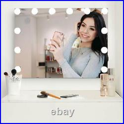 Large Vanity Mirror with Lights, Hollywood Lighted Makeup Mirror