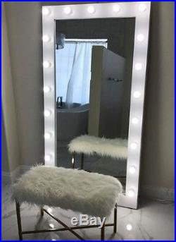 Life-size 6 Ft Hollywood Vanity Mirror