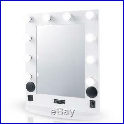 Lighted Hollywood Style USB Charging Makeup Mirror Vanity LED Light New