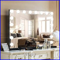 MISAVANITY Hollywood Makeup Vanity Mirror with Lights, Large Lighted Makeup with