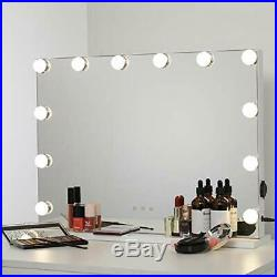 Makeup Mirror Lights, Hollywood Lighted Vanity Touch Screen Dimmer, Tabletop USB