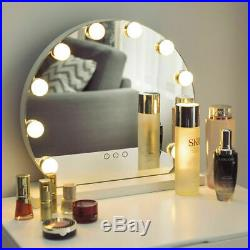 Makeup Vanity Mirror with Light Hollywood Style Mirror, 3 Color Lighting Modes