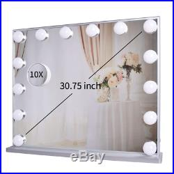 Meetop Hollywood Vanity Mirror with Lights, Lighted Makeup Dressing Tabletop or