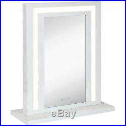Modern White Hollywood Vanity Mirror with Lights Makeup Dressing Table or Wa