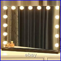 Moon Moon Hollywood Vanity Mirror with Lights Professional Makeup Mirror &