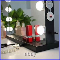 MoonMoon Hollywood Vanity Mirror Lights&xFF0CProfessional Makeup Smart Touch 15