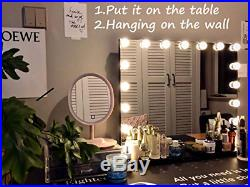 MoonMoon Hollywood Vanity Mirror with LightsProfessional Makeup Mirror with 15