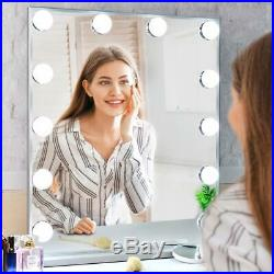 NEW Hollywood Makeup Vanity Mirror with Lights Kit, Lighted Makeup Dressing F/S
