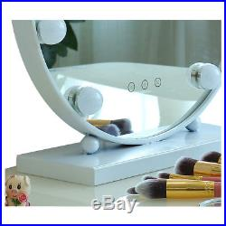 New Vanity Mirror For LED Lights Hollywood Latest Round Styles Makeup HD Mirror