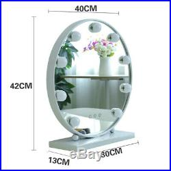 New Vanity Mirror with LED Hollywood Latest Round Styles Makeup HD Mirror