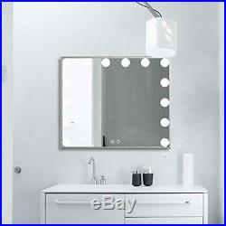 Nitin Lighted Vanity Mirror with Touch Control Design, Hollywood Style Makeup Mi
