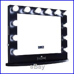 ReignCharm Hollywood Vanity Mirror with Bluetooth Speakers, 12 LED Lights, Dual