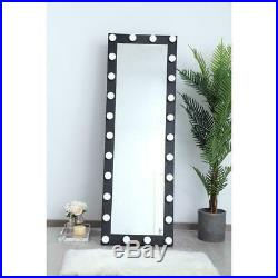 Standing Or Wall Led Makeup Lighted Vanity Hollywood Mirror Dimmable Lights 71