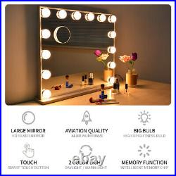 Tabletop Hollywood Vanity Mirror with Lights, Wall Lighted Hollywood Mirrors Bulb