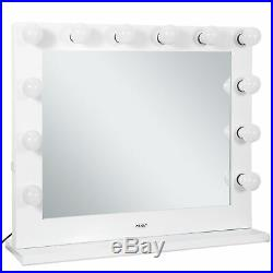 Vanity LED Mirror Light Kit for Makeup Hollywood Mirror with 14 LED Blubs