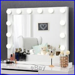 Vanity Mirror Dimmer Light Hollywood Makeup Kit Wall Mounted 14 LED Bulbs