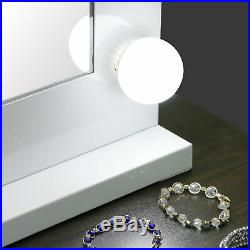 Vanity Mirror Hollywood Style Lights Kit for Makeup Dressing 14 Bulbs Dimmable