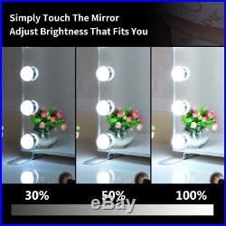 Vanity Mirror With Lights Hollywood Lighted Mirror With Dimmer Bulbs Tabletop