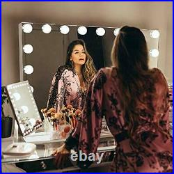 Vanity Mirror for Makeup Bluetooth, Extra Large Hollywood Lighted