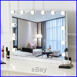 Vanity Mirror with 12 Lights, lHollywood Style Makeup Mirror with Touch