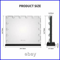 Vanity Mirror with LED Lights Large Hollywood Lighted Makeup Mirror