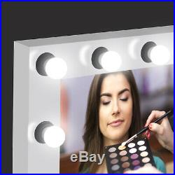 Vanity Mirror with Light Kit for Hollywood Makeup Mirror 12 LED Dimmable Blubs
