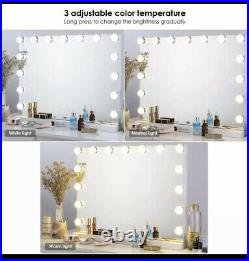 Vanity Mirror with Lights, Hollywood Lighted Makeup Mirror