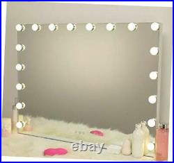 Vanity Mirror with Lights, Hollywood Lighted Makeup Mirror 31.5 W X 23.62 H