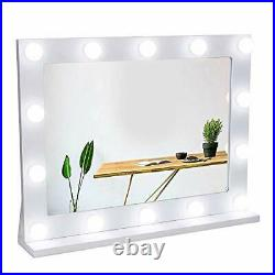 Vanity Mirror with Lights, Hollywood Lighted Makeup Mirror with 14 Dimmable