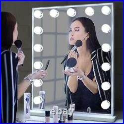 Vanity Mirror with Lights, Hollywood Makeup Lighted Mirror for White