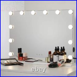 WAYKING Hollywood Lighted Makeup Cosmetic Vanity Landscape-12 Bulbs, White