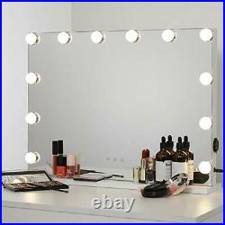 WAYKING Hollywood Lighted Makeup Cosmetic Vanity Mirror with 12 LED Lights
