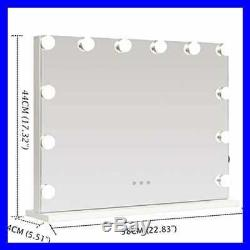 WAYKING Makeup Mirror W Lights Hollywood Lighted Vanity Touch Screen Dimmer Tabl