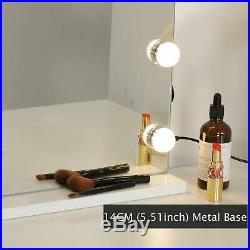 WAYKING Makeup Mirror with Lights Hollywood Lighted Vanity Mirror with Touch