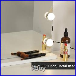 WAYKING Makeup Mirror with Lights, Hollywood Lighted Vanity Mirror with Touch 3