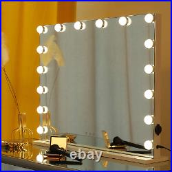 WAYKING Vanity Mirror with Lights Large Hollywood Lighted Makeup Mirror with 16