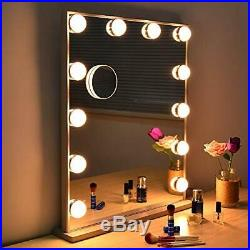WONSTART Hollywood Lighted Mirror with Lights, Makeup Vanity Mirror With 12 Led