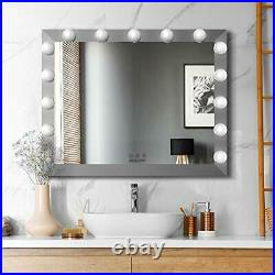 WONSTART Hollywood Vanity Mirror. Big Dressing Table Mirror with 15pcs Dimmer Led