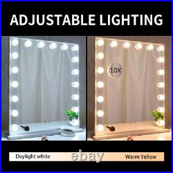 WONSTART Hollywood Vanity Mirror with Lights, Lighted Mirror 18pcs Led or Wall