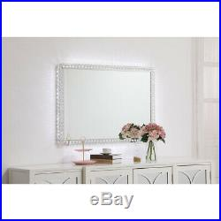 Wall Mirrors With Crystals Lighting Hollywood Bedroom Makeup Vanity Led Lights