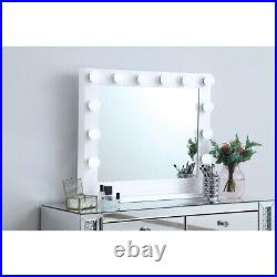 Wall Or Table Top Vanity Lighting Hollywood Mirror Makeup Lights Led Dimmable