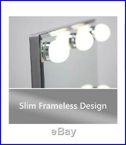 Waneway Hollywood Lighted Vanity Makeup Mirror with Bright LED Lights, Light-up