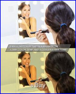 Waneway Hollywood Lighted Vanity Mirror with LED Lights for Makeup Dressing
