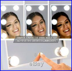 Waneway Hollywood Lighted Vanity Mirror with LED Lights for Makeup Dressingtable